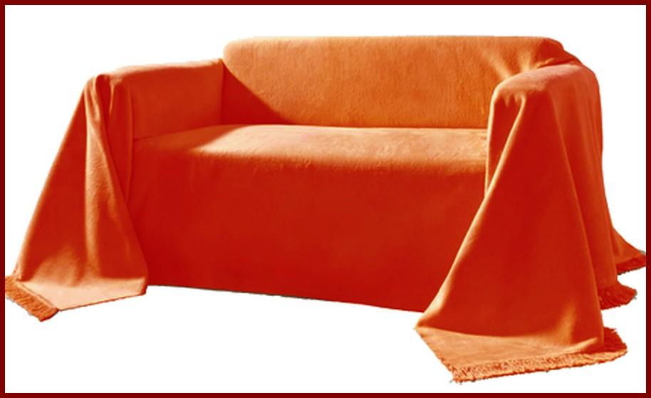 kuschelweicher berwurf oder kissen h lle f r sofa couch sessel orange neu ebay. Black Bedroom Furniture Sets. Home Design Ideas
